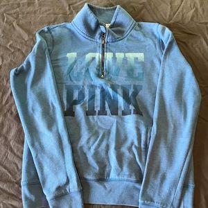 Pink by Victoria's Secret blue Sweatshirt